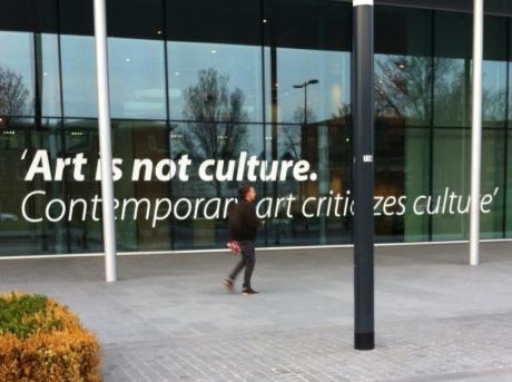 Art is not culture.