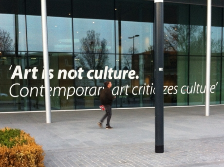 Art is not culture.